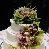 Cakes, white, green, cake, Sint maarten marry-me