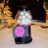 Reception, Flowers & Decor, Favors & Gifts, white, pink, black, Favors, Creative wedding solutions