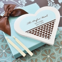Reception, Flowers & Decor, Favors & Gifts, blue, brown, favor, Personalized, Matchbook, Cute clips more wedding favors