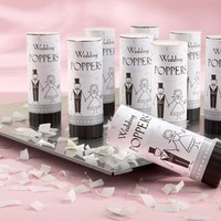 Reception, Flowers & Decor, Favors & Gifts, white, black, silver, favor, Favors, Eco-Friendly, Eco-Friendly Wedding Favors & Gifts, Wedding, Biodegradable, Poppers, Cute clips more wedding favors