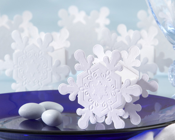 Reception, Flowers & Decor, Favors & Gifts, white, favor, Winter, Wedding, Box, Snowflake, Cute clips more wedding favors