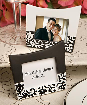 Inspiration, Reception, Flowers & Decor, Favors & Gifts, white, black, Favors, Wedding, Placecard, Board, Damask, Frames, Accent the party