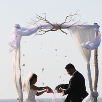 Ceremony, Reception, Flowers & Decor, white, Ceremony Flowers, Flowers, Arch, Chuppah, Canopy, Jadore florist