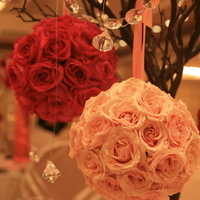 Ceremony, Reception, Flowers & Decor, pink, red, Ceremony Flowers, Centerpieces, Flowers, Centerpiece, Jadore florist