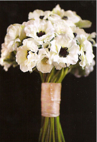 Bride Bouquets, Bridesmaid Bouquets, Vintage Wedding Flowers & Decor, Anemone