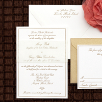 Stationery, gold, Classic, Invitations, Monogram, Custom, Butterfly, Traditional, Letterpress, Stamps, Classic wedding invitation, Paper moss