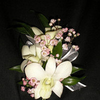 Ceremony, Flowers & Decor, white, yellow, pink, green, brown, Ceremony Flowers, Flowers, Rose of sharon, event florist