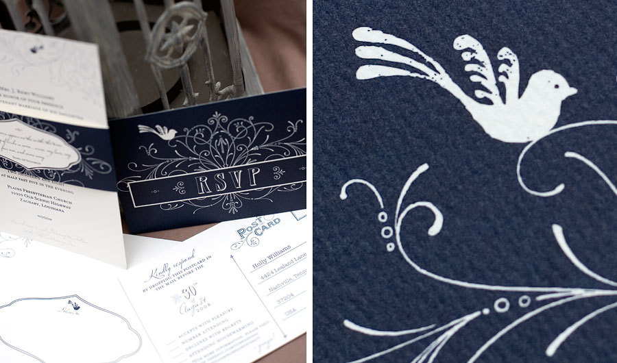 Stationery, blue, Invitations, Custom, Texture, Bird, Popular, Paper moss, Swirly