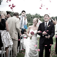 Ceremony, Flowers & Decor, white, pink, Ceremony Flowers, Outdoor, Flowers, Flower, Toss, Petals, Recessional, Knight photo studio