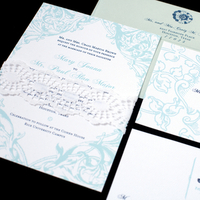 Stationery, blue, green, Vintage, Invitations, Victorian, Antique, Parisian, Baroque, Paper moss, Swirly