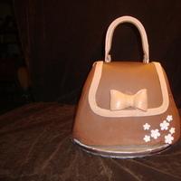 Cakes, pink, brown, cake, Shower, Wbs custom cakes, Girly-girl