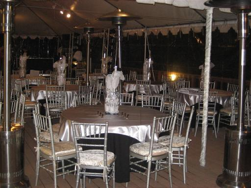 Reception, Flowers & Decor, silver, Chiavari, Chair, Linen, Charger, Imperial party rentals