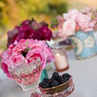 Flowers & Decor, Centerpieces, Flowers, Tea, Cans