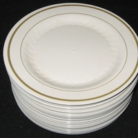 Registry, ivory, gold, Place Settings, Plates