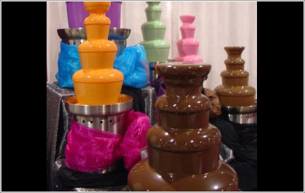 Chocolate, Fountains