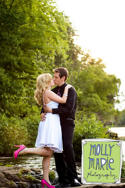 Beauty, Wedding Dresses, Shoes, Fashion, white, pink, black, dress, Makeup, Kiss, Hair, Enagagement, Molly marie photography