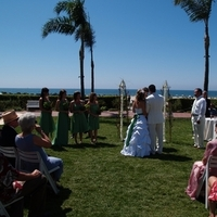 Ceremony, Flowers & Decor, Bridesmaids, Bridesmaids Dresses, Wedding Dresses, Beach Wedding Dresses, Fashion, green, dress, Beach, Beach Wedding Flowers & Decor, An impressive event