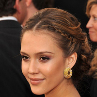 Beauty, Updo, Hair, Jessica, Alba