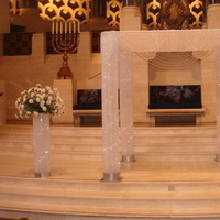 Ceremony, Flowers & Decor, white, silver, Chuppah, Huppah, Chuppa, Miracle chuppahs