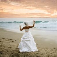 Beauty, Ceremony, Flowers & Decor, Wedding Dresses, Beach Wedding Dresses, Fashion, dress, Beach, Bride, Beach Wedding Flowers & Decor, Hair, Sunset, A slice of life photography