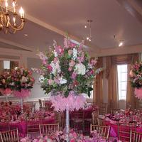 Reception, Flowers & Decor, pink