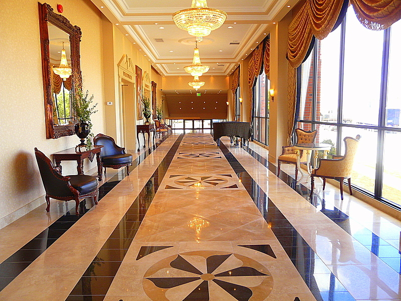 Reception, Flowers & Decor, The, Beautiful, In, Lobby, Work, Tile, The grand olympia hospitality convention centre, Areas
