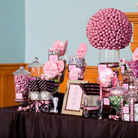 Inspiration, Reception, Flowers & Decor, pink, Wedding, Candy buffet, candy bar, Dallas, Modern life studios, Old red courthouse, Old red, Old red reception