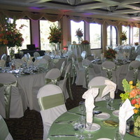 Reception, Flowers & Decor, yellow, orange, green, Centerpieces, Flowers, Centerpiece, Ninfas flowers gifts