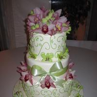 Flowers & Decor, Cakes, pink, green, cake, Flowers, Pixies petals event decor