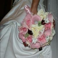 Flowers & Decor, pink, brown, Flowers