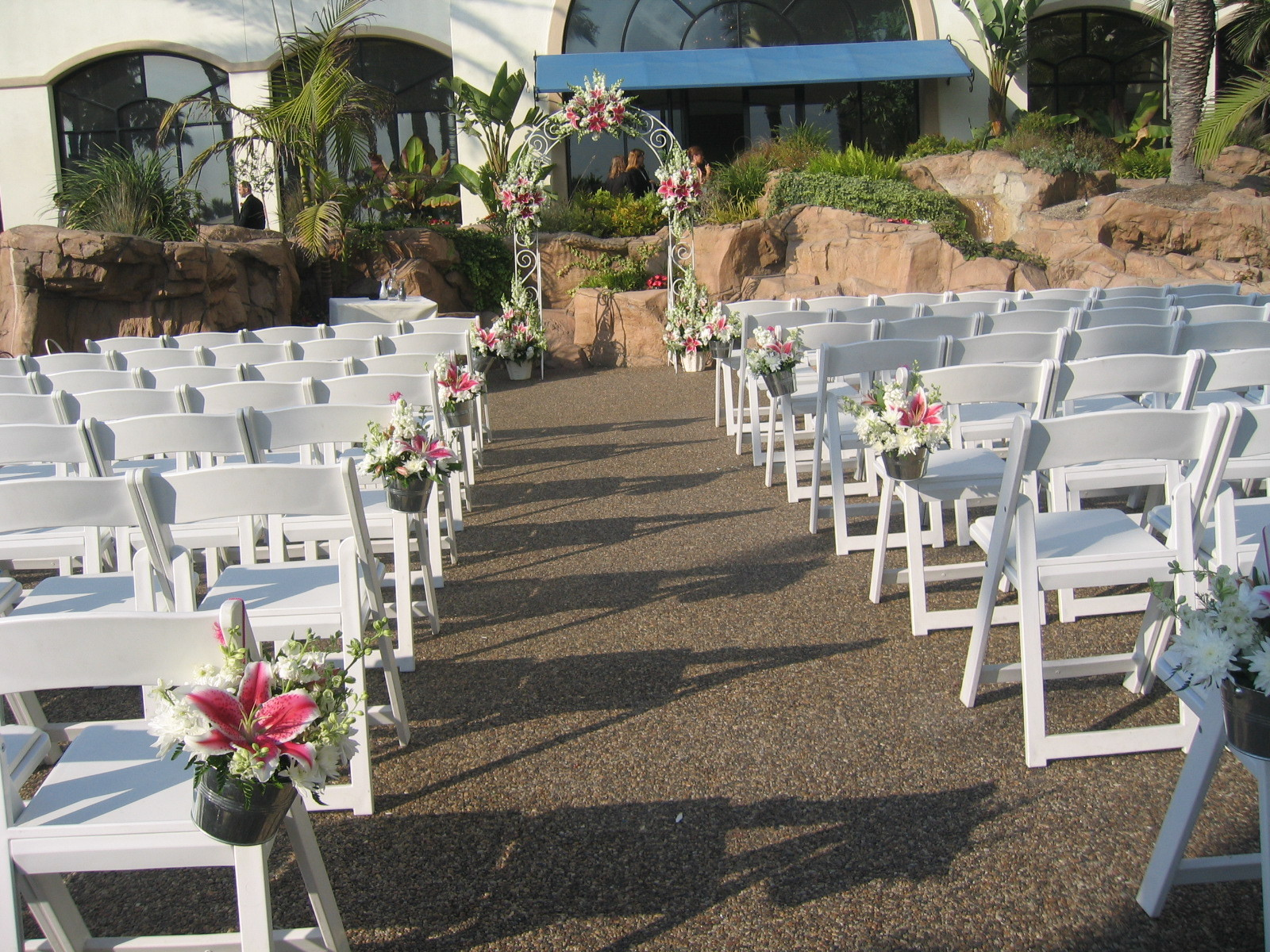 Ceremony, Flowers & Decor, white, pink, black, Ceremony Flowers, Aisle Decor, Centerpieces, Flowers, Table, Aisle, Ninfas flowers gifts, Flowerscocktail