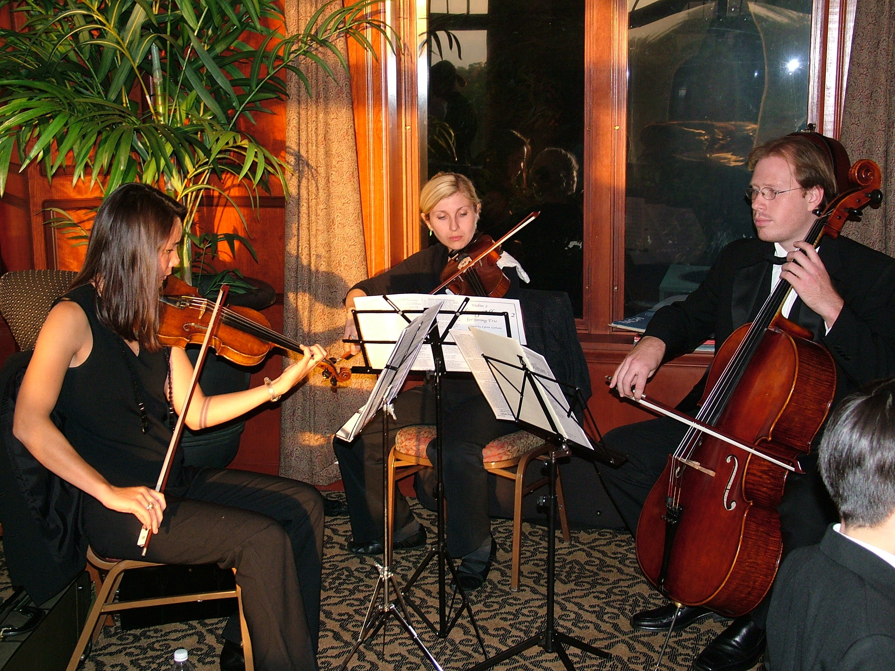 Ceremony, Flowers & Decor, Musicians, Music, Violin, Classical, Trio, String, Parkwest strings