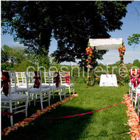 Ceremony, Flowers & Decor, yellow, orange, red, gold, Ceremony Flowers, Aisle Decor, Flowers, Roses, Lilies, Table, Ribbon, Satin, Petals, Aisle, Cermony, Bows, Cheshire tree floral designs, Four poles, Lemon leaves, Tallis, Tallid, Chuupah
