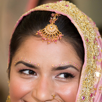 Beauty, Ceremony, Flowers & Decor, Jewelry, white, pink, brown, black, silver, gold, Makeup, Hair, Flawless beauty makeup and hair