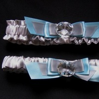 Wedding Dresses, Fashion, blue, silver, dress, Bride, Wedding, Bridal, Something blue, Garter, Toss, Satin, Garter set, Lola in lace wedding accessories, satin wedding dresses