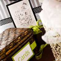 Reception, Flowers & Decor, Stationery, green, brown, Invitations