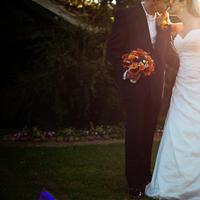 Flowers & Decor, Wedding Dresses, Fashion, orange, brown, dress, Bride Bouquets, Bride, Flowers, Groom, And, Jacqueline photography, Flower Wedding Dresses