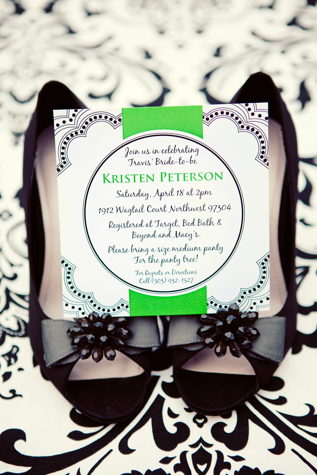 Modern Wedding Invitations, Red pearl designs