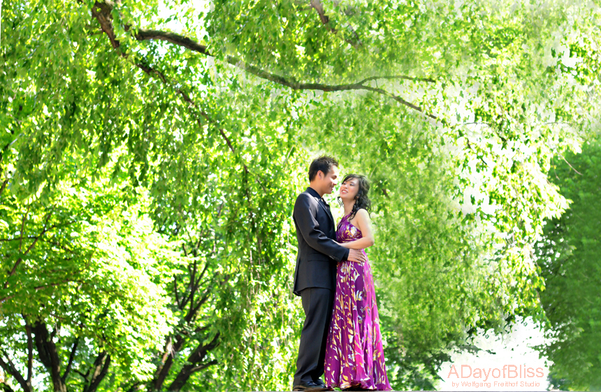Ceremony, Flowers & Decor, purple, Park, Central