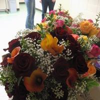 Flowers & Decor, red, green, gold, Bride Bouquets, Flowers, Bouquet, Bridal