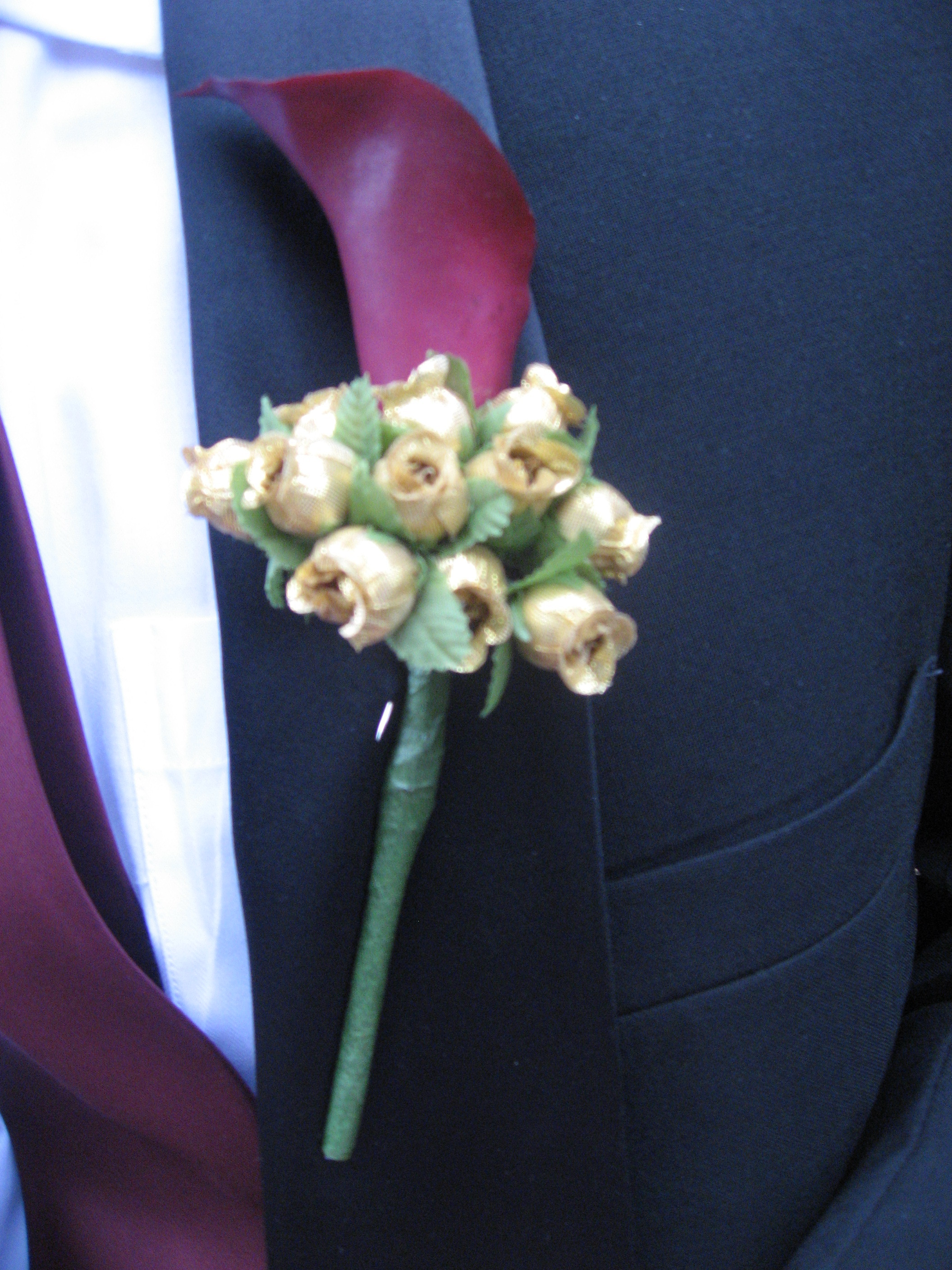 Groomsmen, Calla, Lilly, Corsage