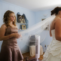 Bridesmaids, Bridesmaids Dresses, Veils, Fashion, pink, Bride, Veil, Ron wurzer photography