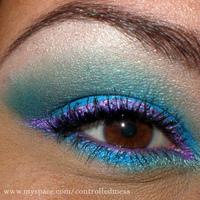 Beauty, purple, blue, Makeup, Eyeshadow