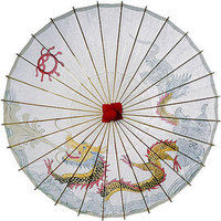 Bridesmaids, Bridesmaids Dresses, Fashion, Asian, Dragon, Parosol