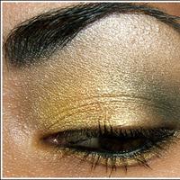 Beauty, gold, Makeup, Eyeshadow