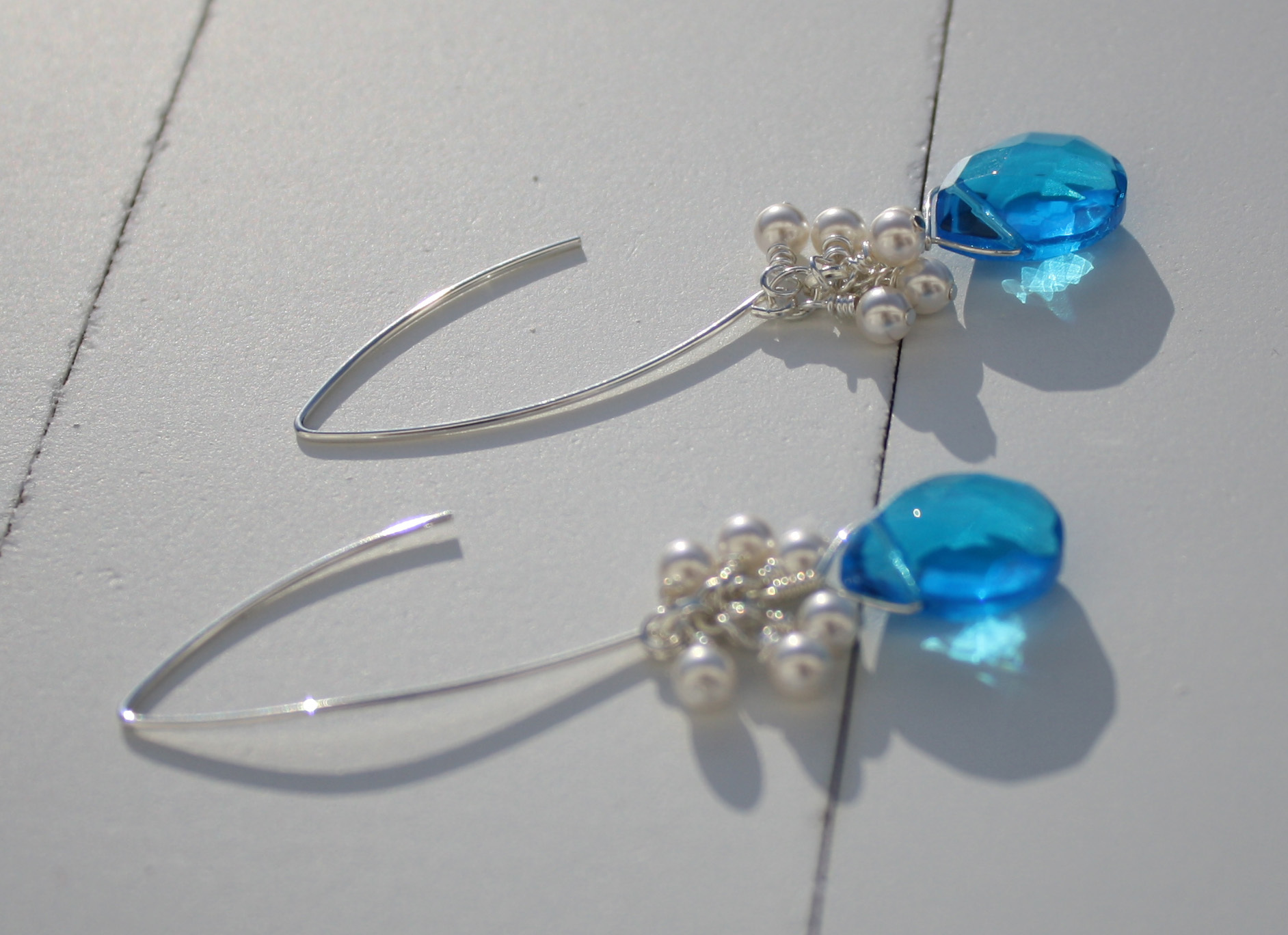Bridesmaids, Bridesmaids Dresses, Fashion, blue, Blustarfruit jewelry
