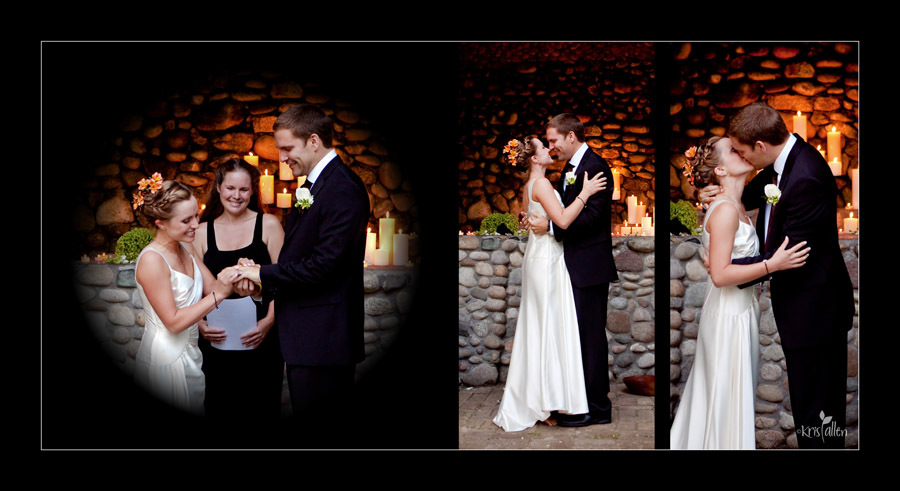 Ceremony, Flowers & Decor, Photography, white, green, black, Kris, Allen