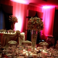 Flowers & Decor, pink, Centerpieces, Lighting, Flowers
