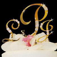 Cakes, gold, cake, Topper, Rhinestones