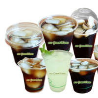 green, Cups, Biodegradable, Eco greenwares - biodegradable foodservice products, Pla, Compostable